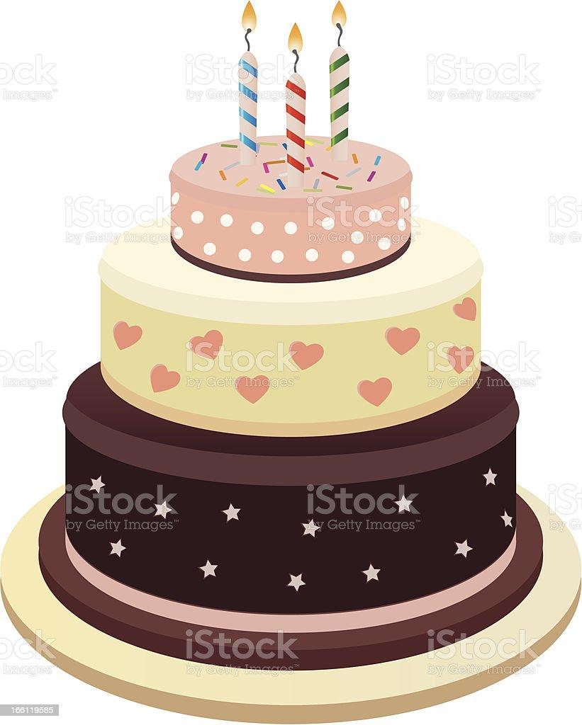 Cake royalty-free stock vector art