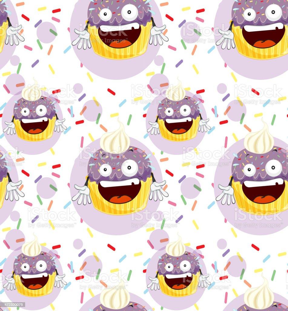 Cake vector art illustration
