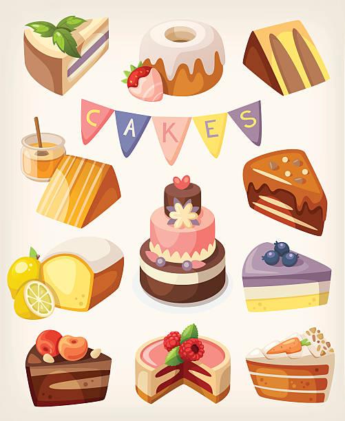 Bundt Cake Clip Art, Vector Images & Illustrations - iStock