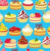 Cakes seamless