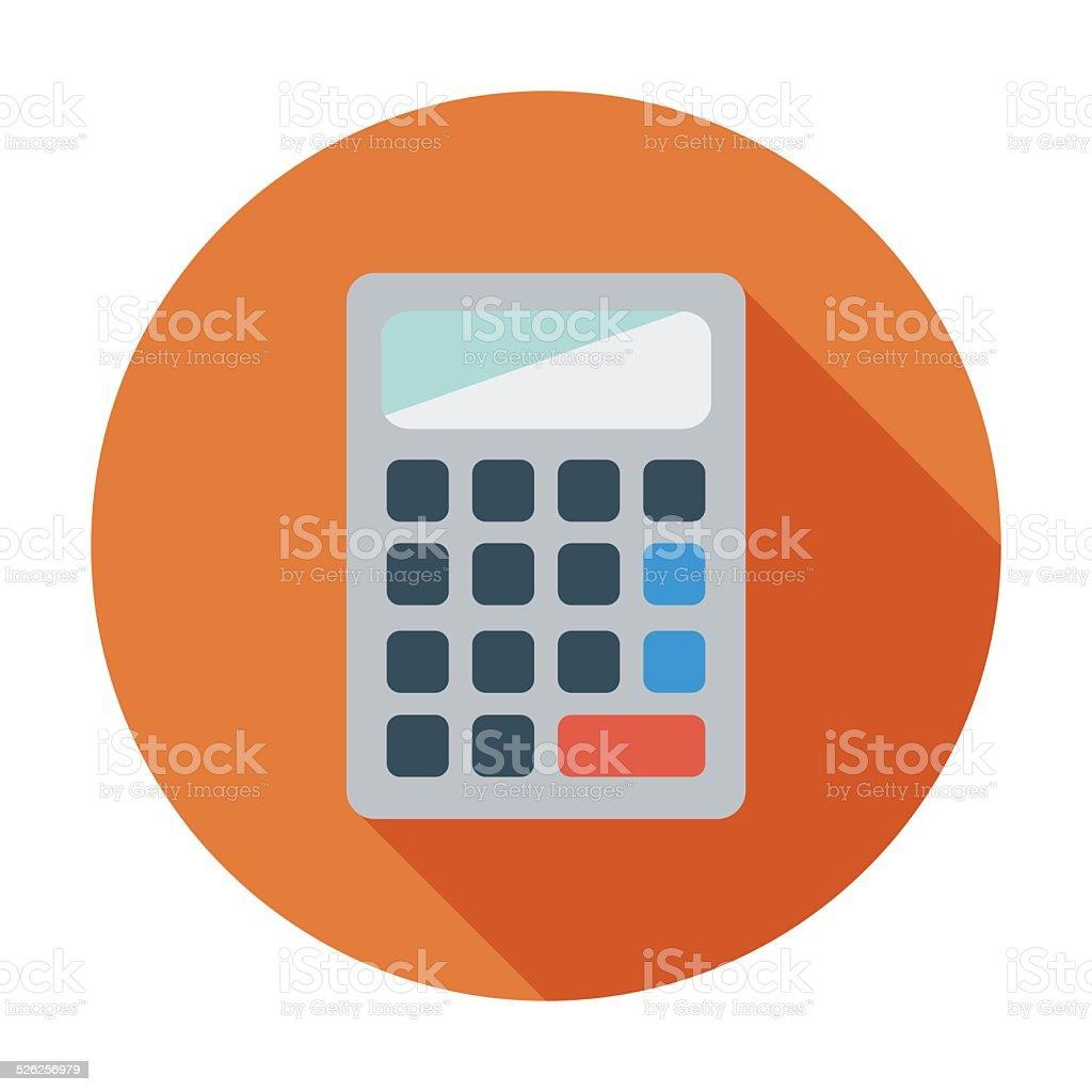 Calculator icon. vector art illustration