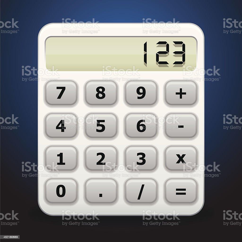 calculator icon vector royalty-free stock vector art