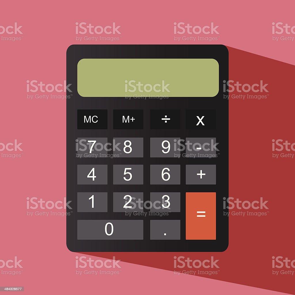 calculator vector icon vector art illustration