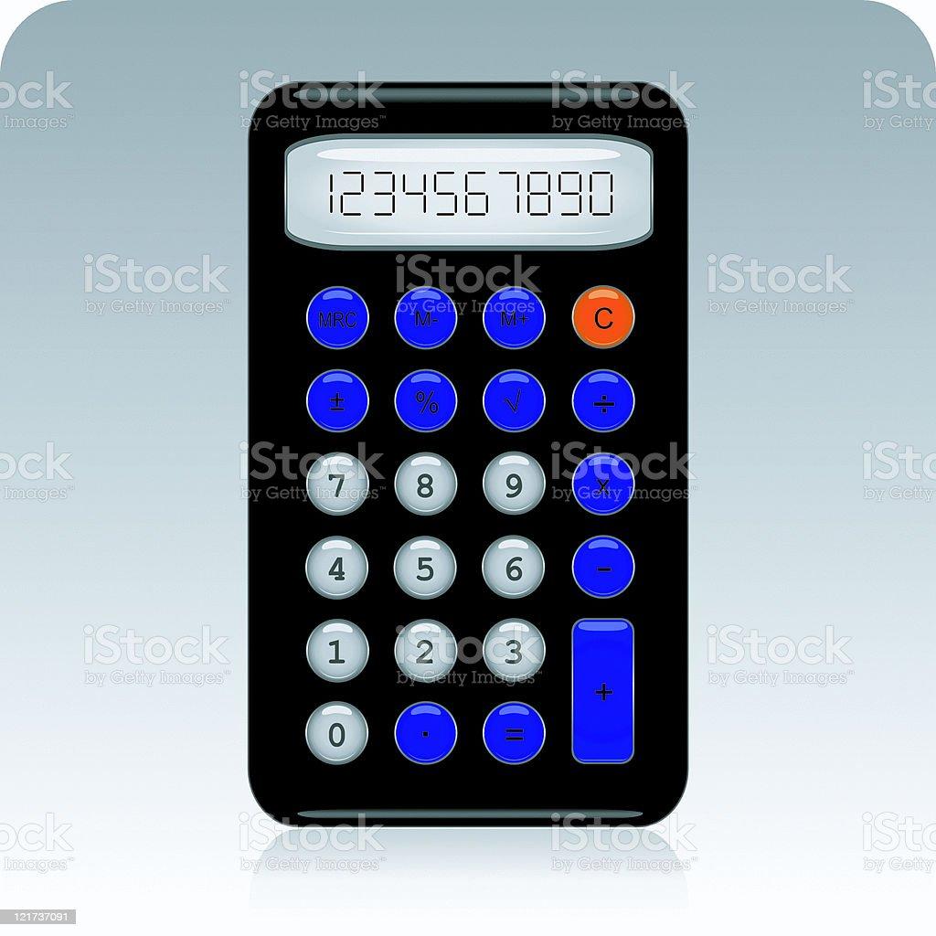 Calculator royalty-free stock vector art