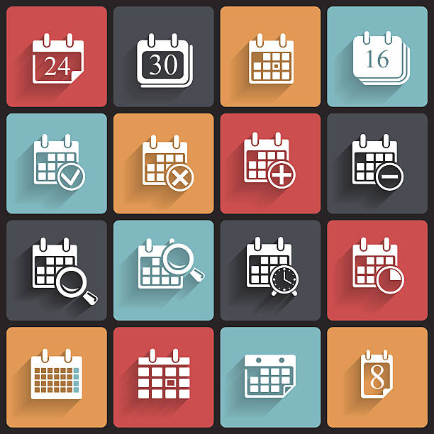 Calendar Day Vector Art : Week days clip art vector images illustrations istock