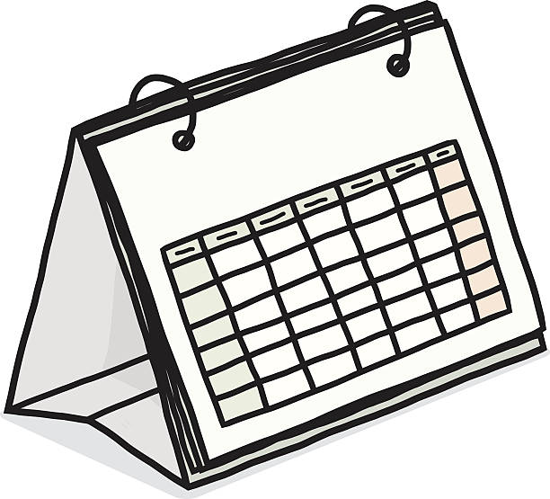 Calendar Day Vector Art : Week days clip art vector images illustrations istock