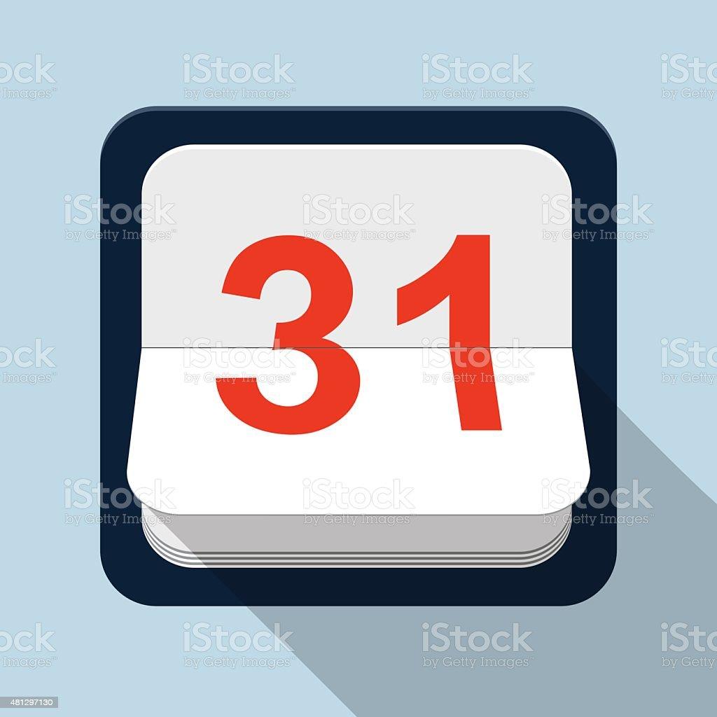 Calendar Vector Illustration vector art illustration