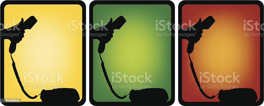 Call us for more info royalty-free stock vector art