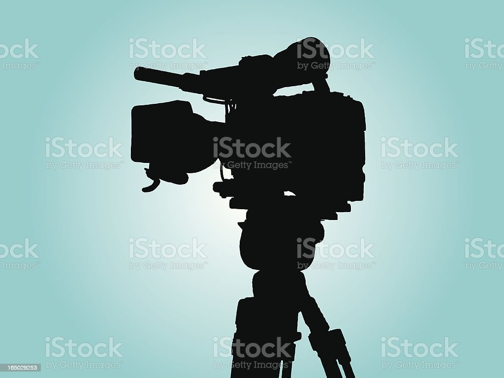 TV- Cam 3 vector with Alphachannel for picture 469278 royalty-free stock vector art