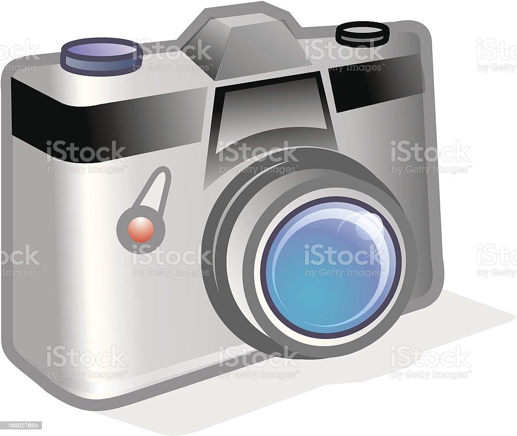 3 D vector icono de cámara solo - ilustración de arte vectorial