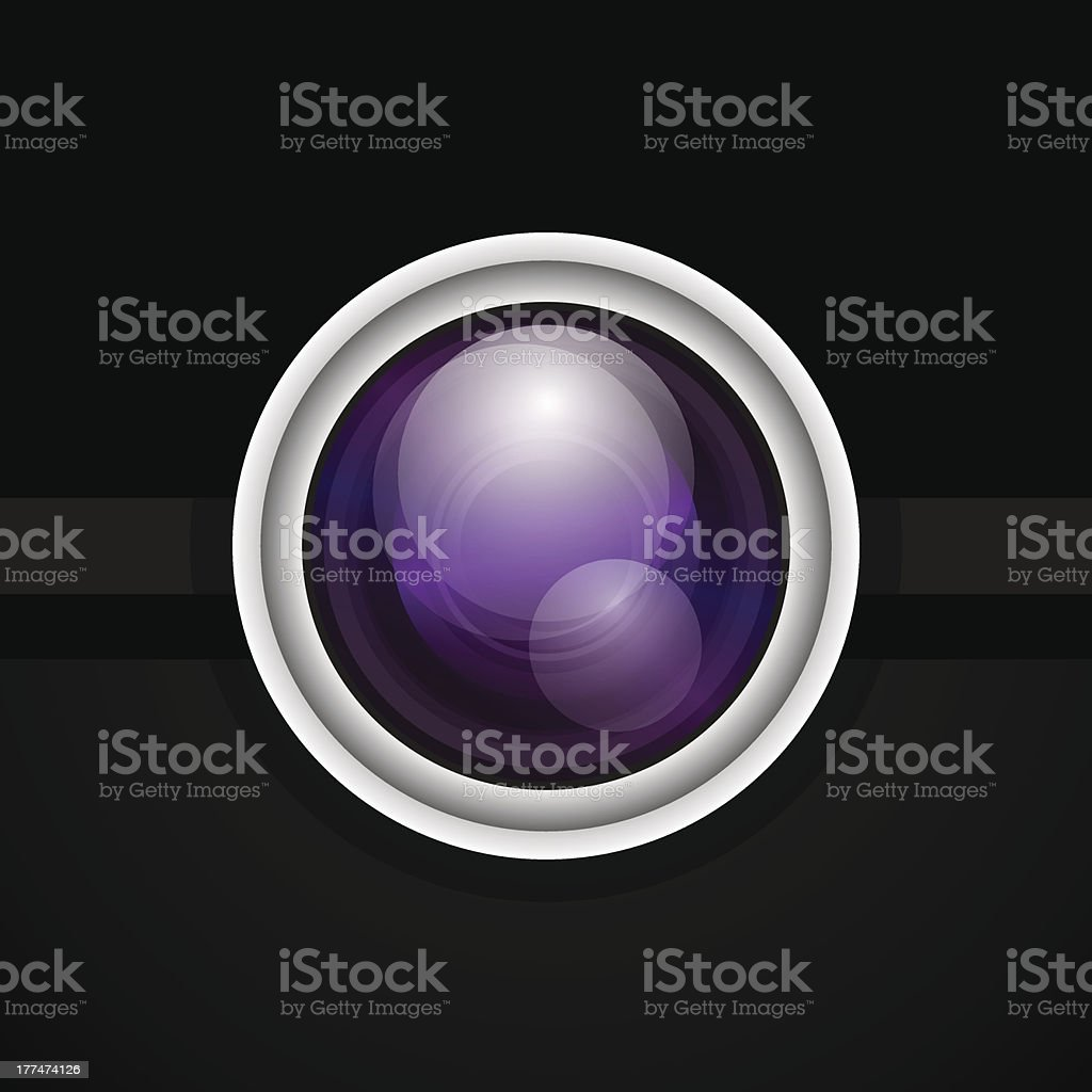 Camera icon royalty-free stock vector art