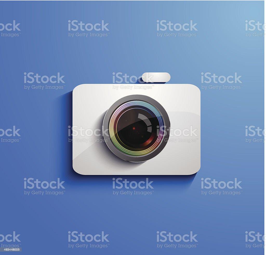 Icône de caméra stock vecteur libres de droits libre de droits