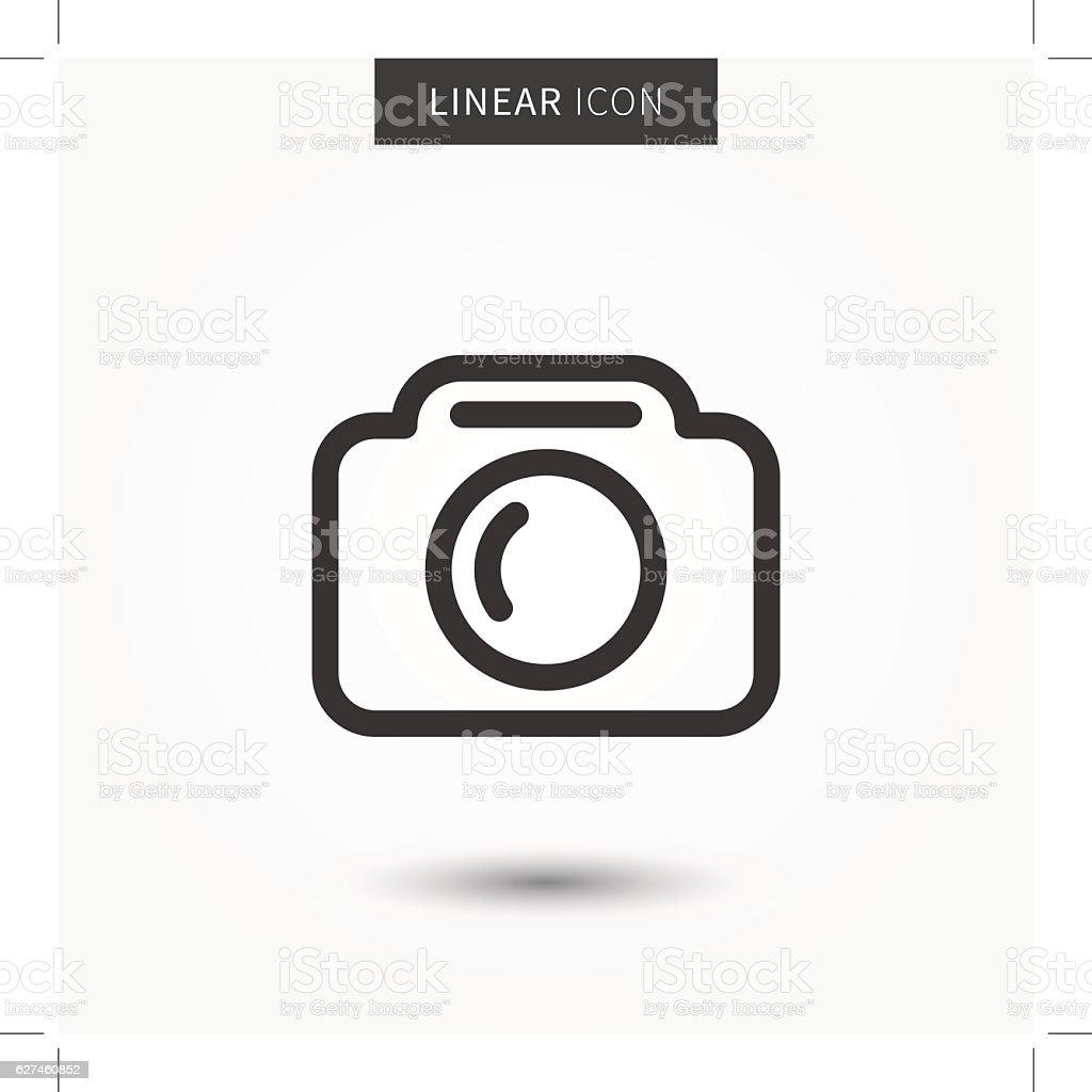 Camera icon vector illustration vector art illustration