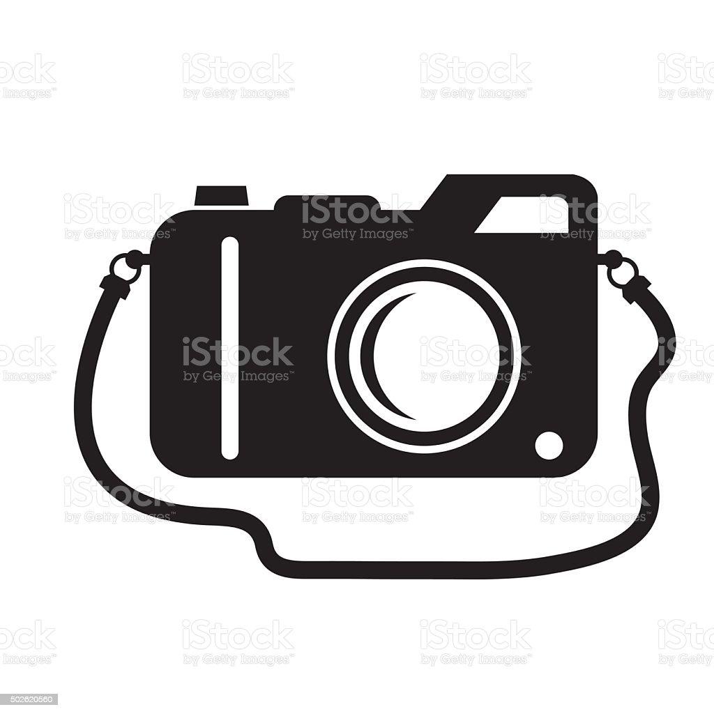 camera icon vector vector art illustration