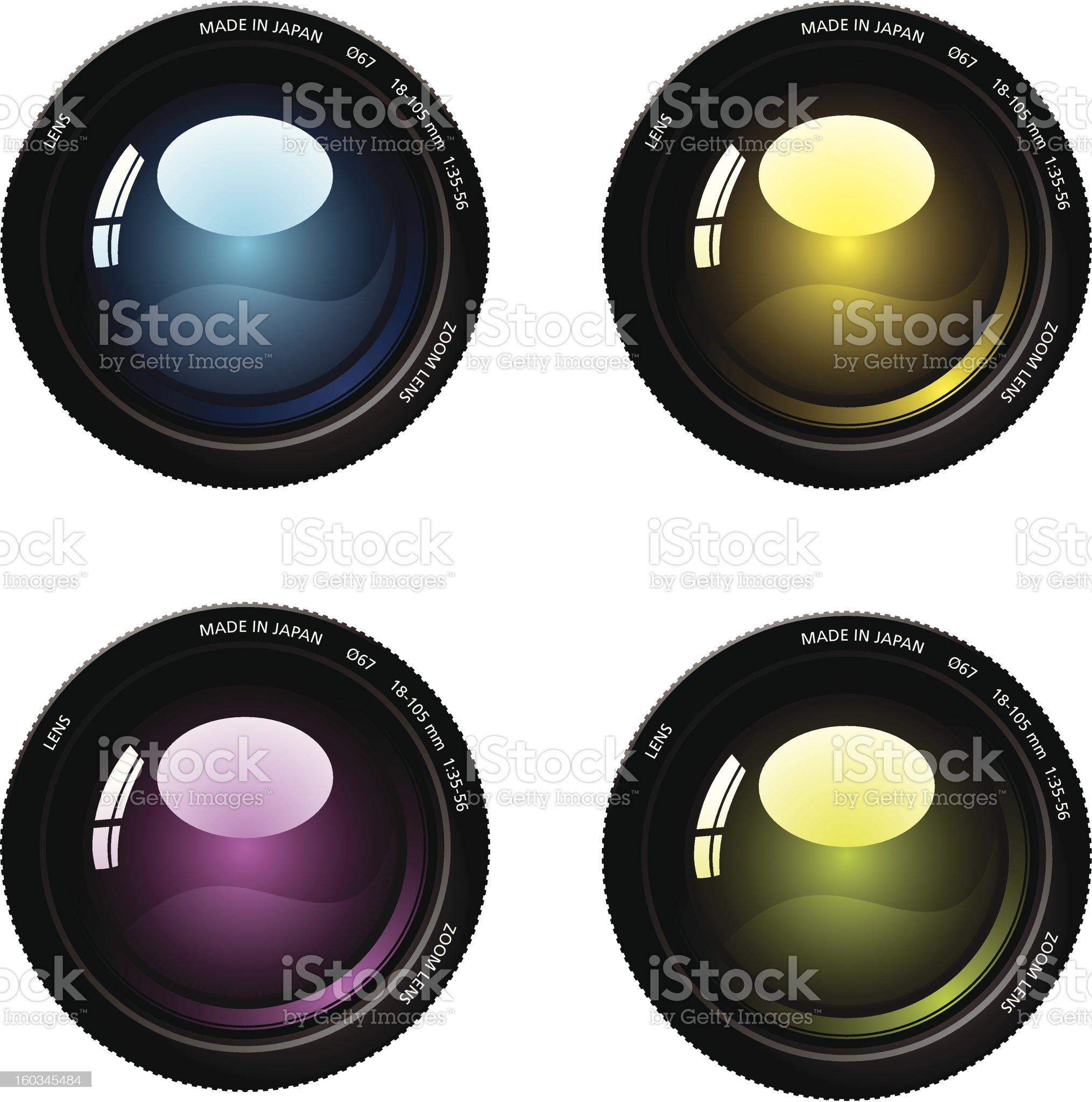 Camera lens. royalty-free stock photo