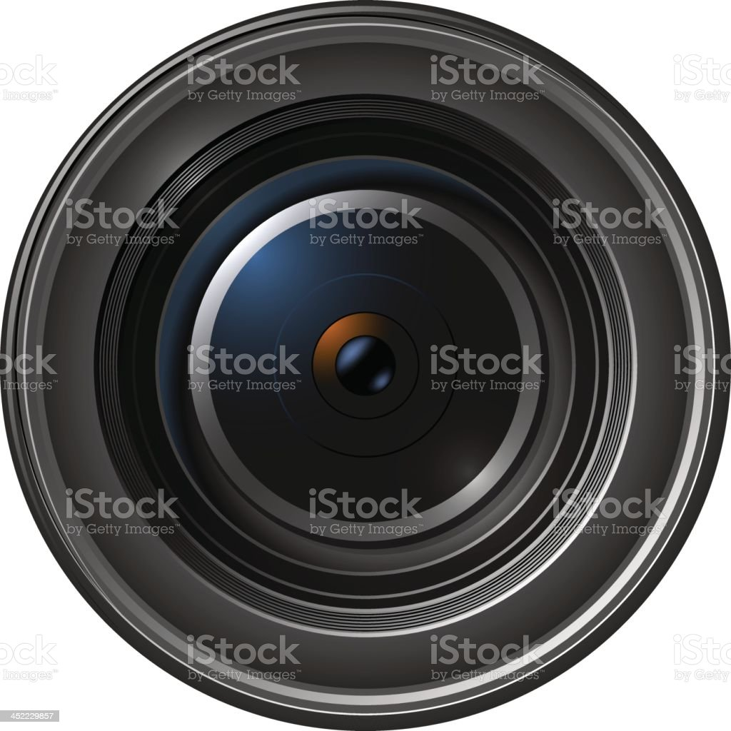 Camera Lens royalty-free stock vector art