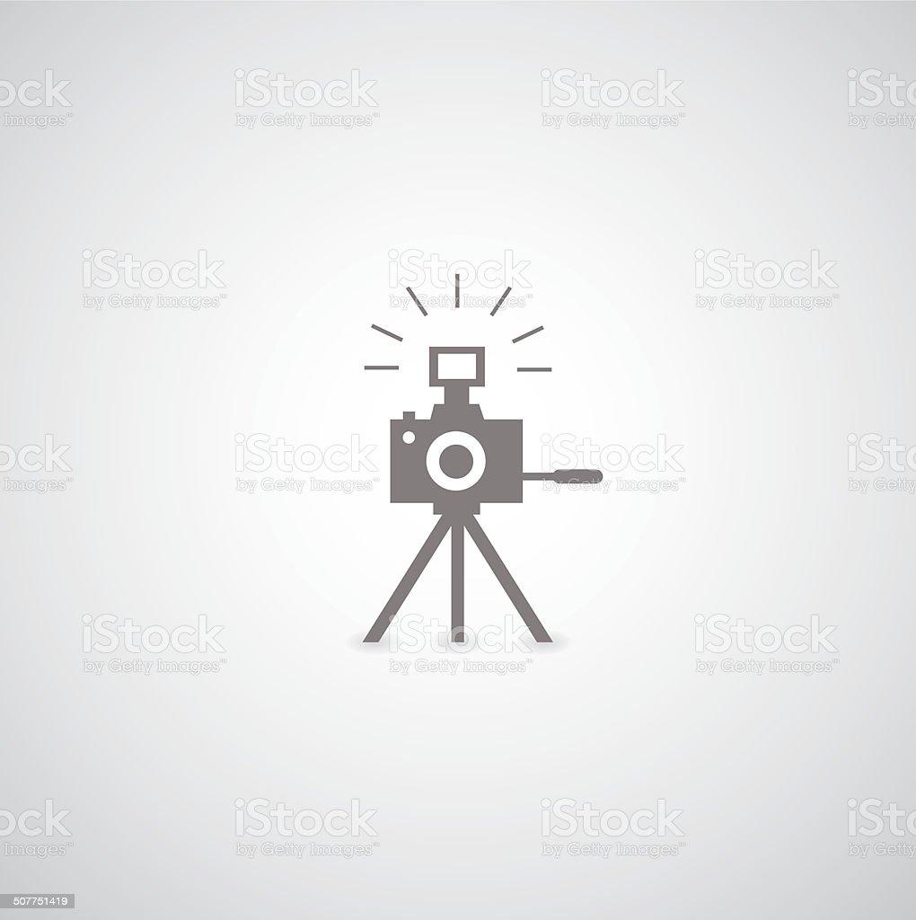 camera symbol vector art illustration
