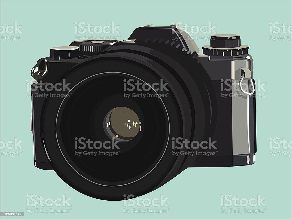 Camera - VECTOR royalty-free stock vector art