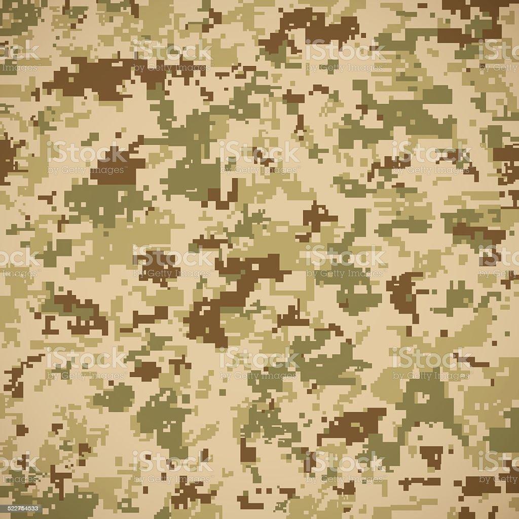 Camoflage Pattern vector art illustration