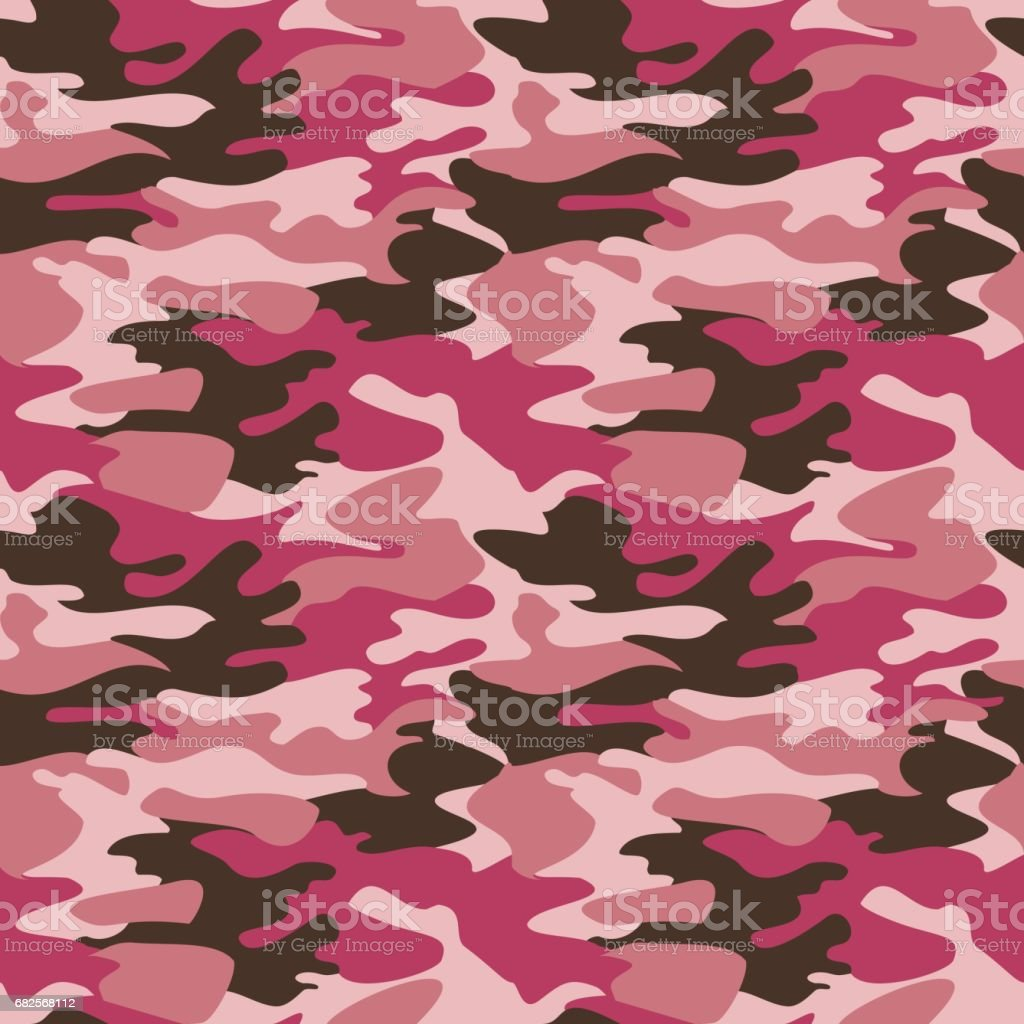 Camouflage pattern background seamless vector vector art illustration