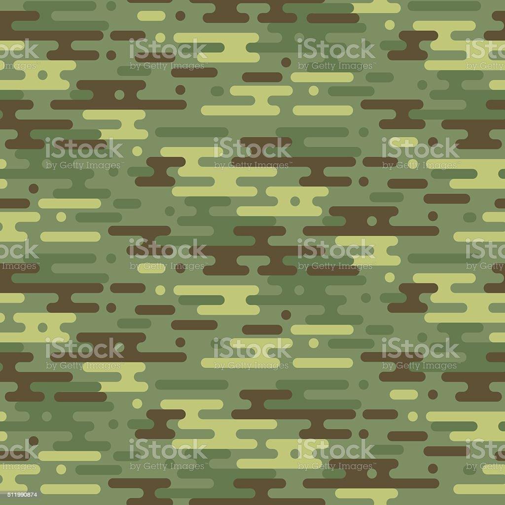 Camouflage vector seamless pattern. vector art illustration