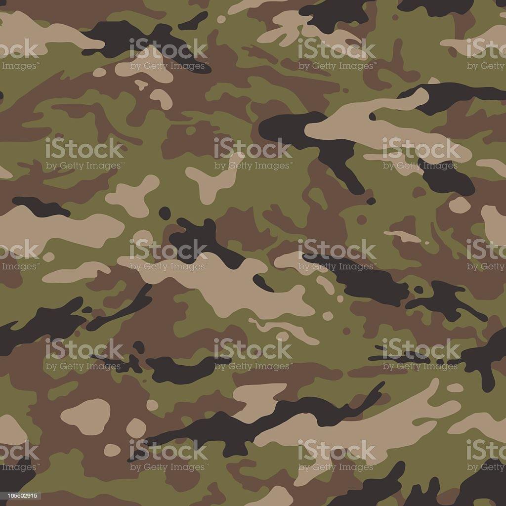 Camouflage Vector - Seamless Tile (US Multi) vector art illustration