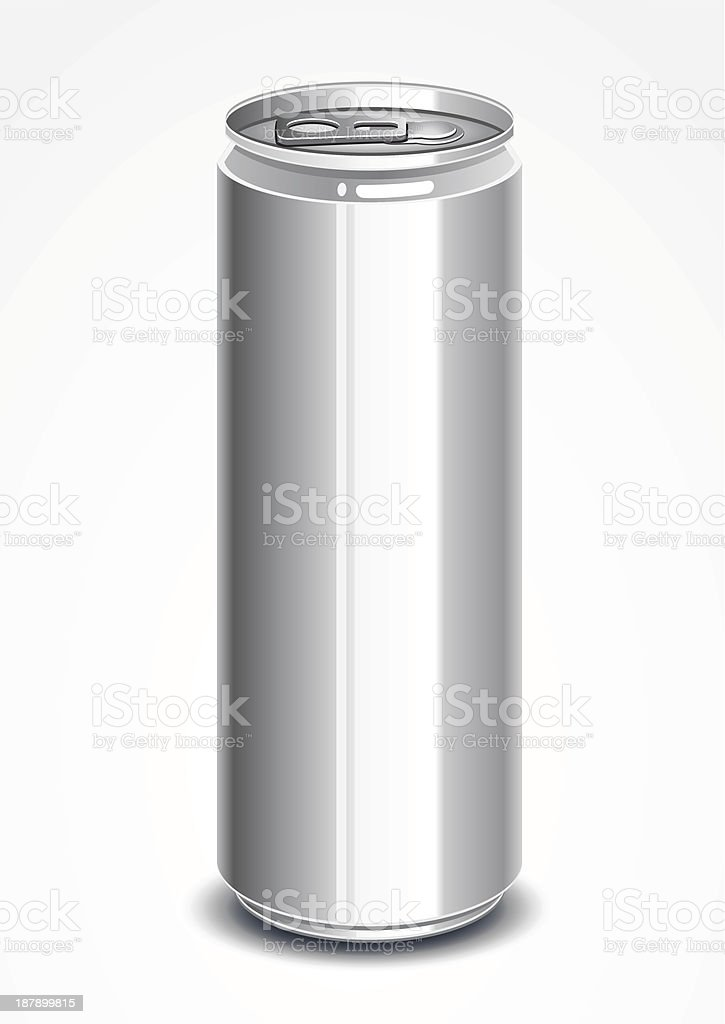 Can of drink royalty-free stock vector art