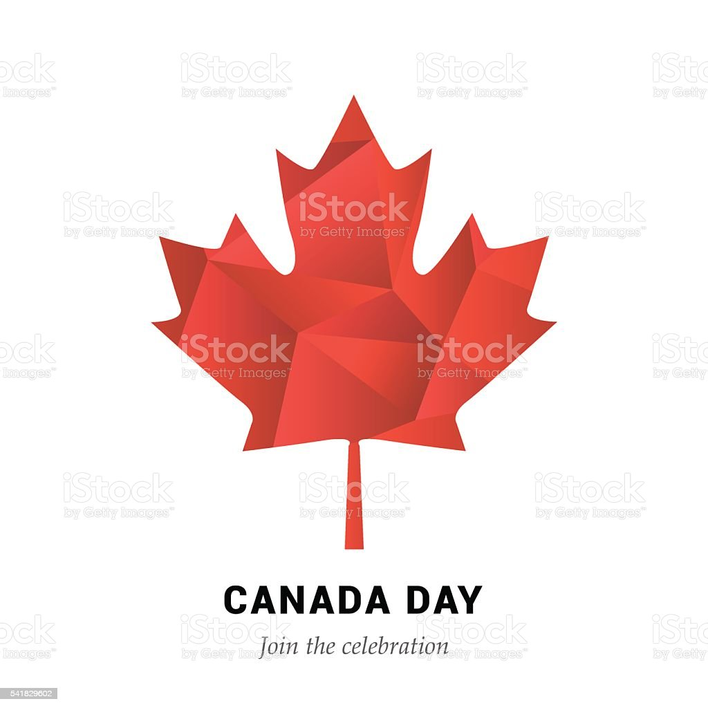 VECTOR Canada Day vector art illustration