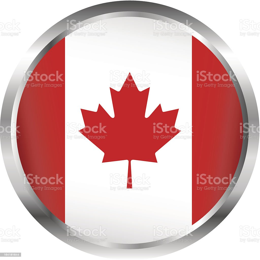 Canada flag royalty-free stock vector art