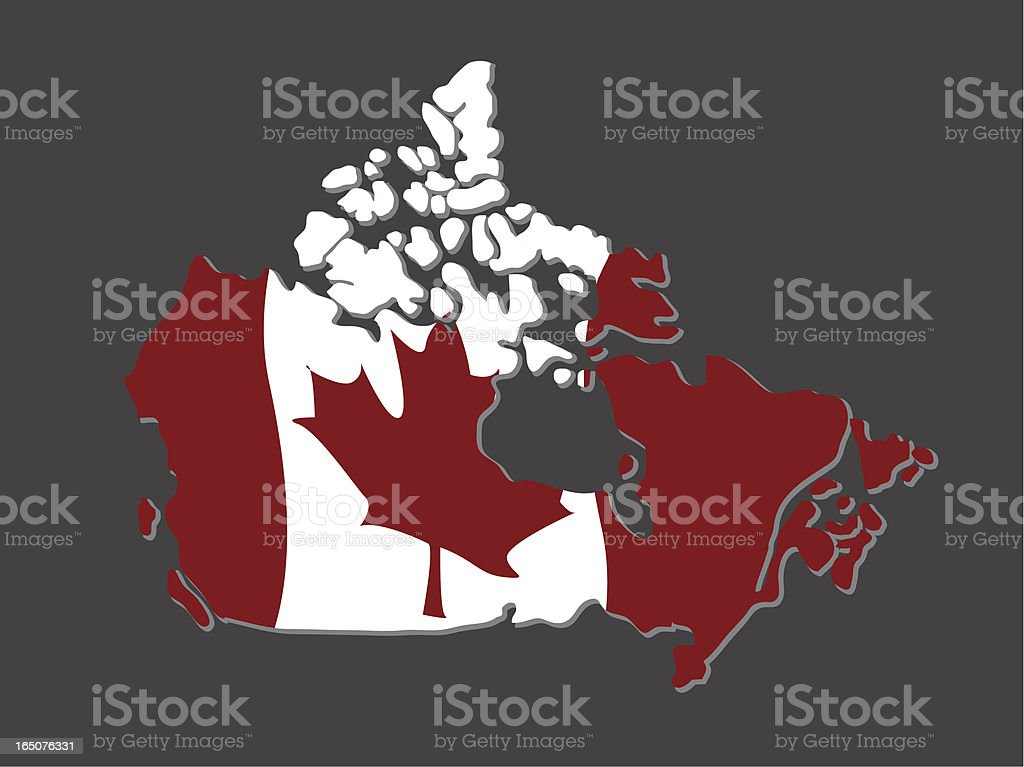 Canada royalty-free stock vector art