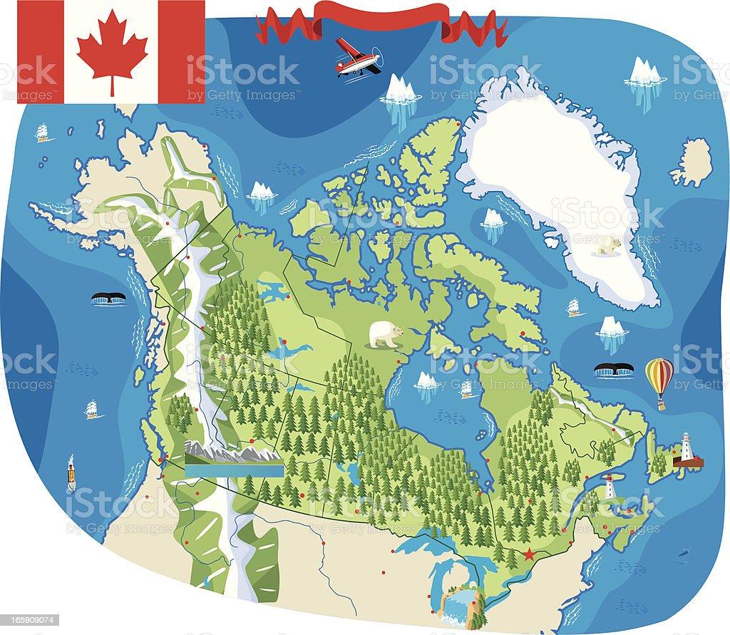 Canada royalty-free stock vector art