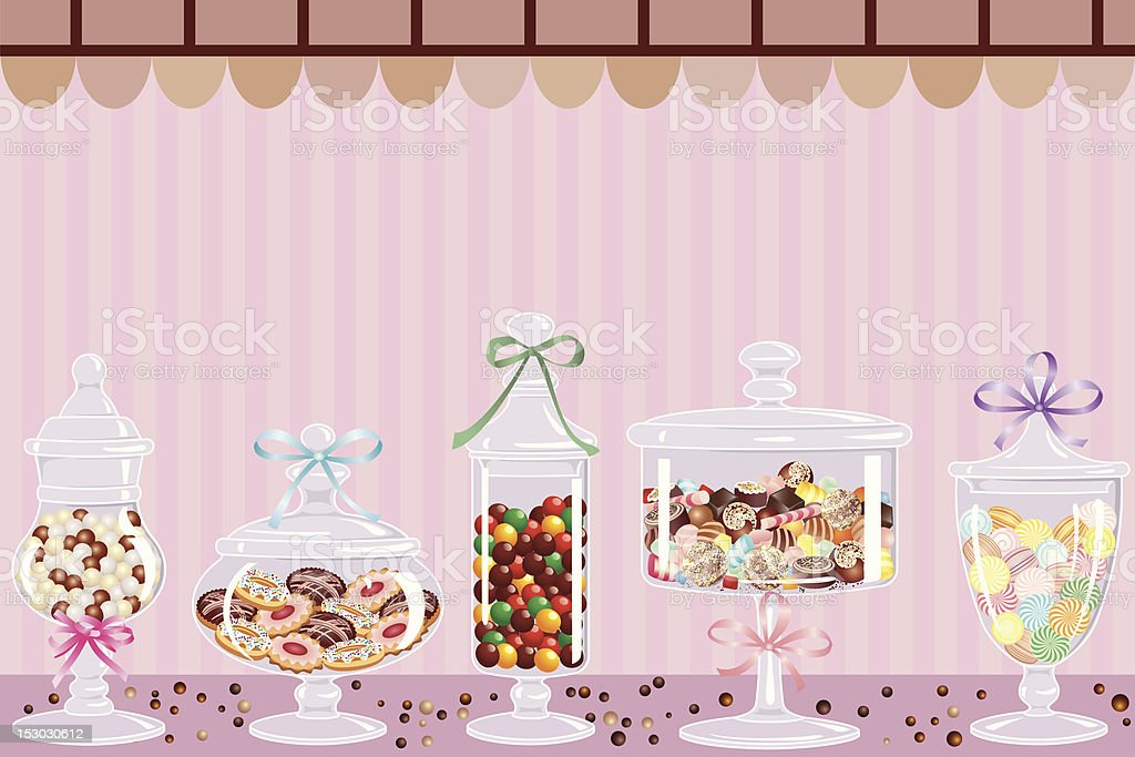 Candy bar royalty-free stock vector art