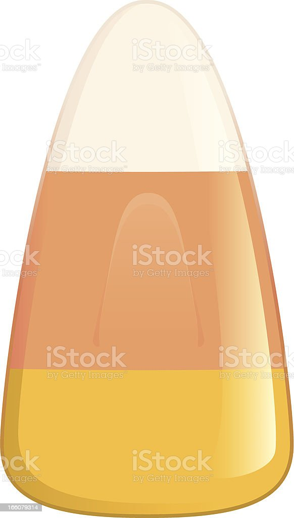 Candy Corn royalty-free stock vector art