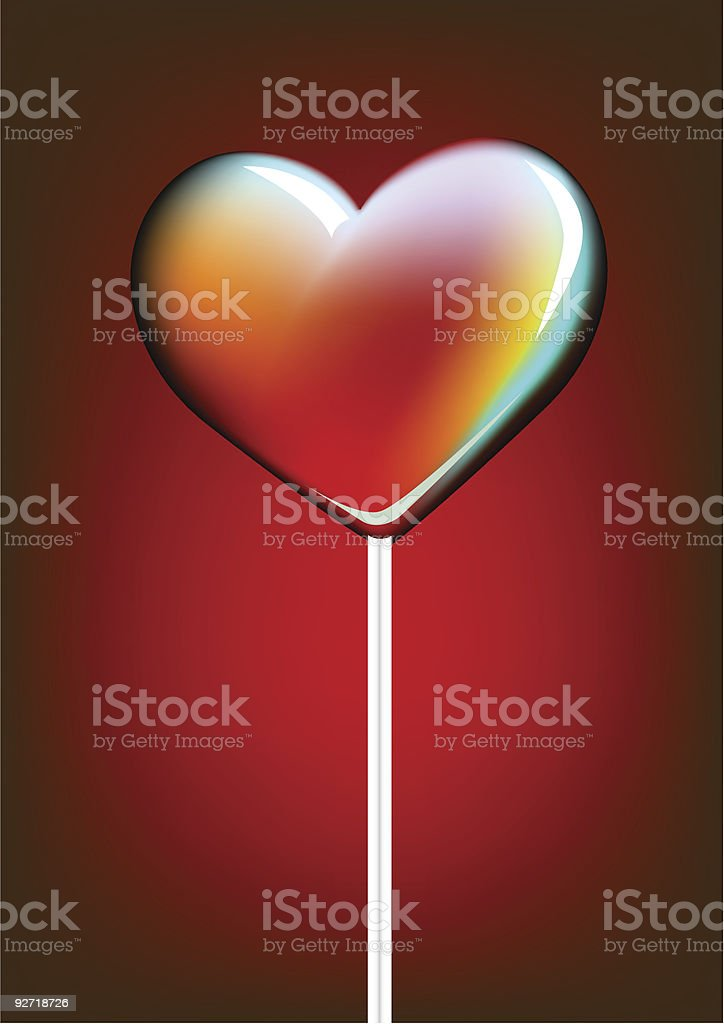 candy heart royalty-free stock vector art