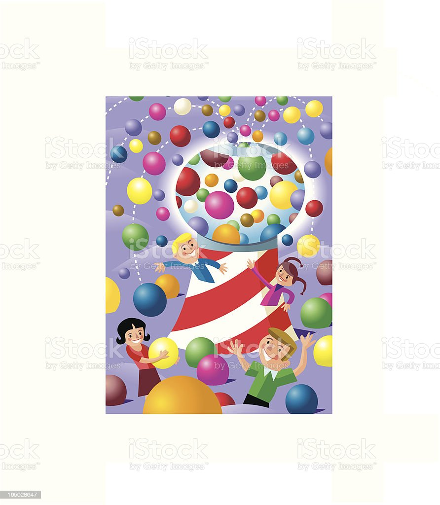 Candy Land royalty-free stock vector art
