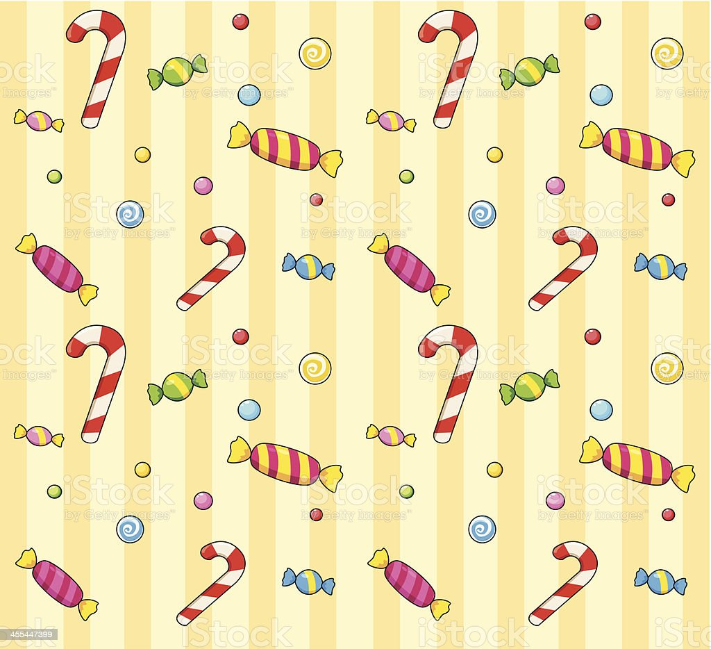 Candy seamless pattern royalty-free stock vector art