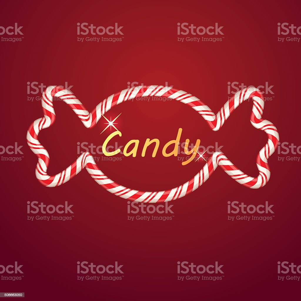 Candy shape royalty-free stock vector art
