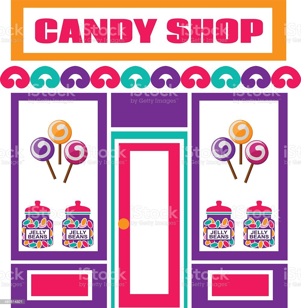 candy store royalty-free stock vector art