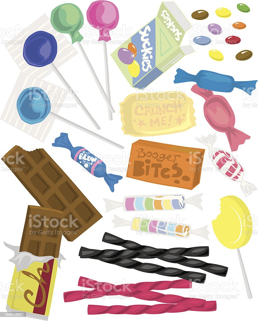 Candy! royalty-free stock vector art
