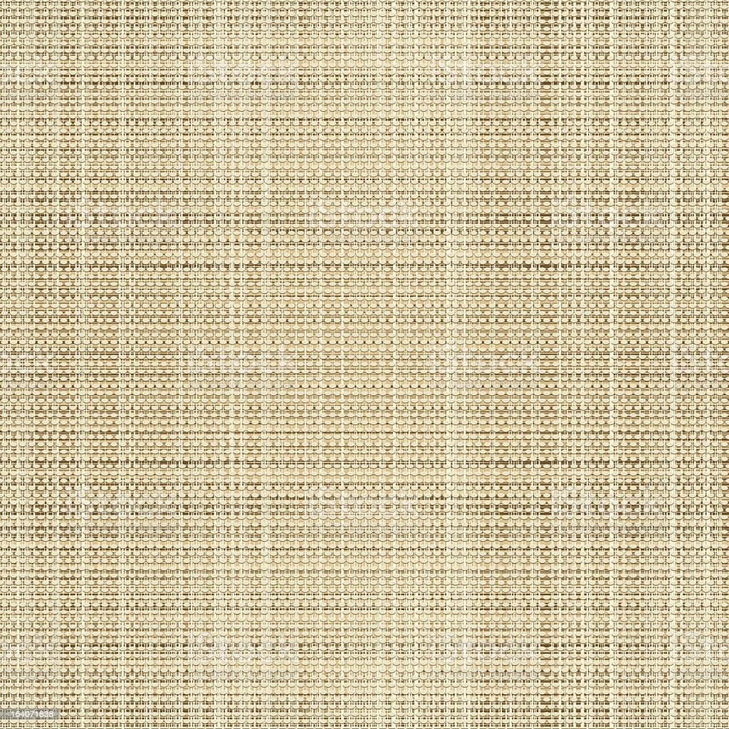 Canvas linen fabric royalty-free stock vector art