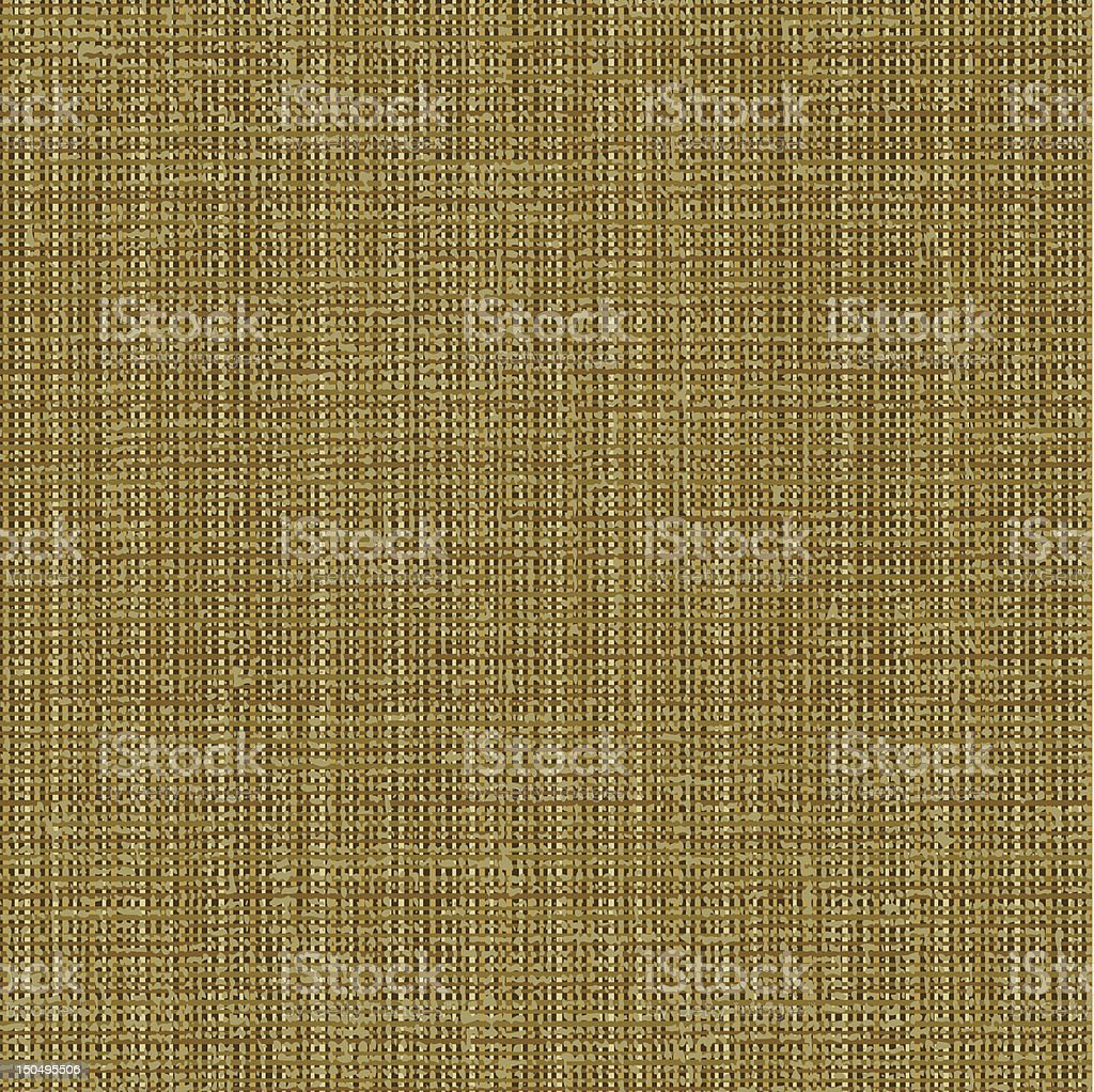 Canvas texture pattern royalty-free stock vector art