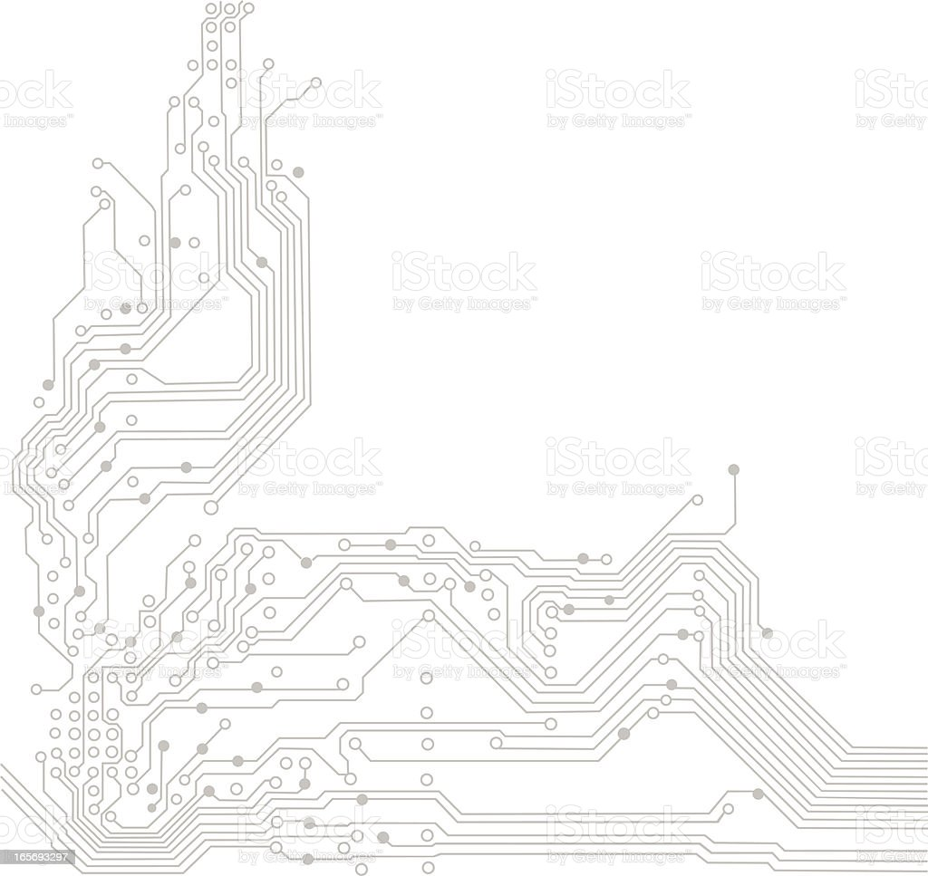Capacitors Vector royalty-free stock vector art