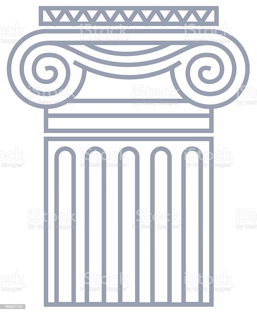 Capitol royalty-free stock vector art