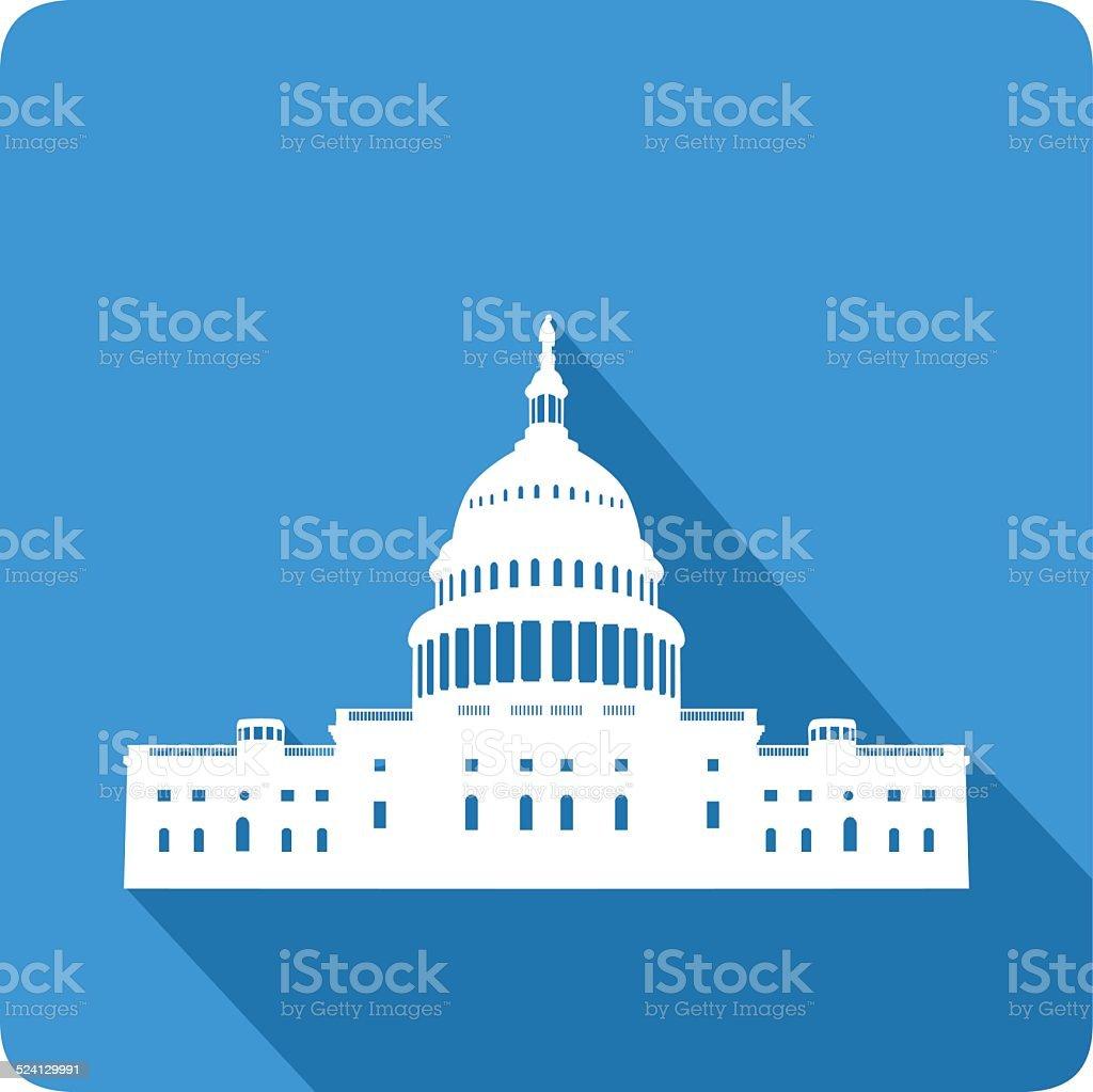 Capitol, vector illustration vector art illustration