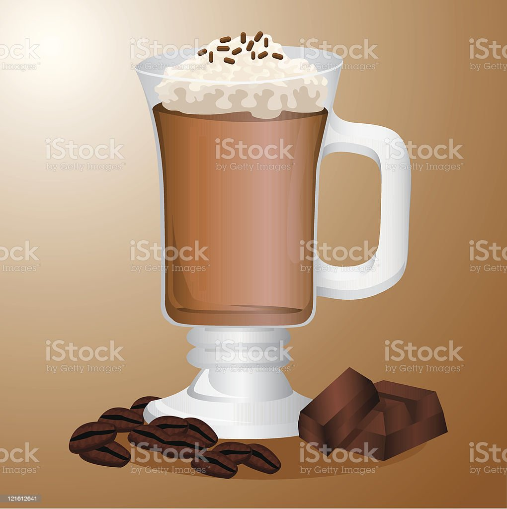 Cappucino royalty-free stock vector art