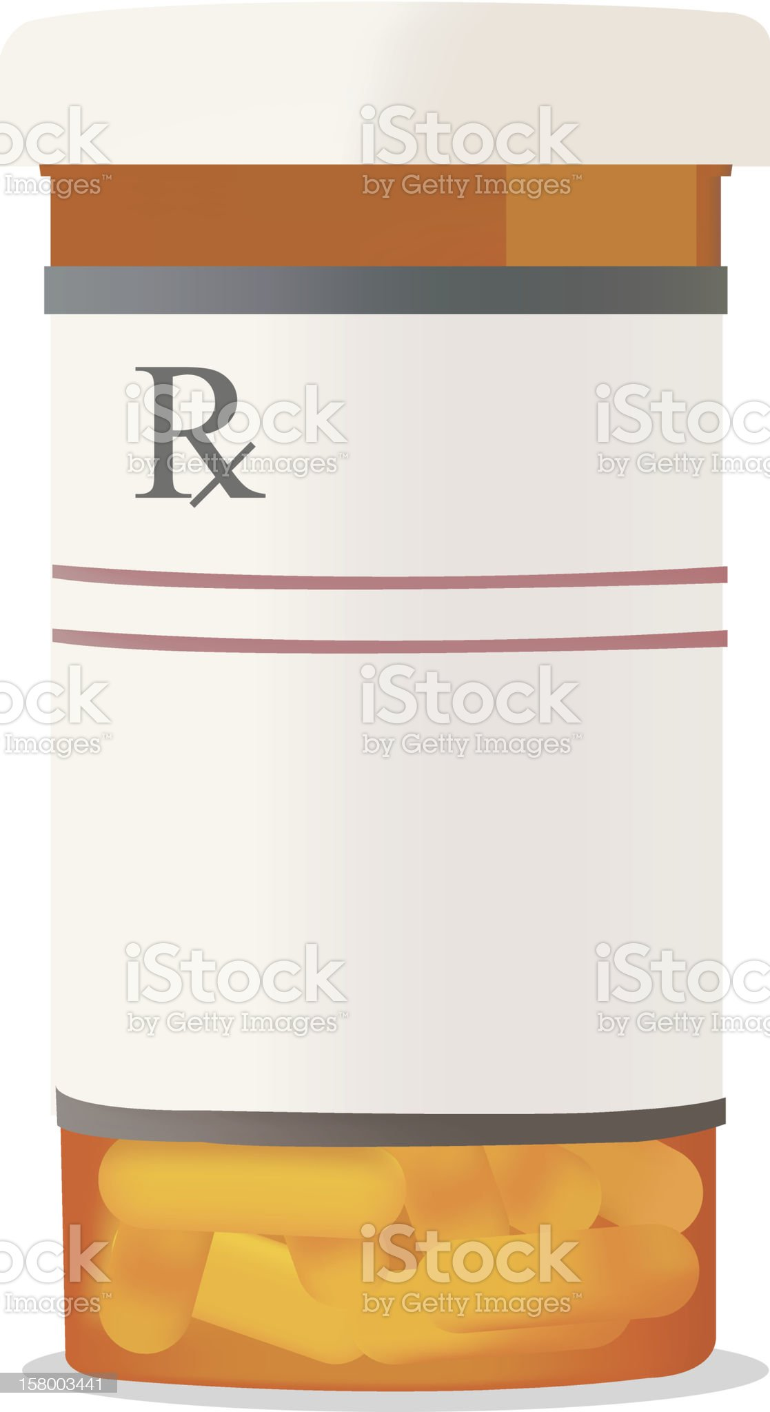 capsule container royalty-free stock vector art