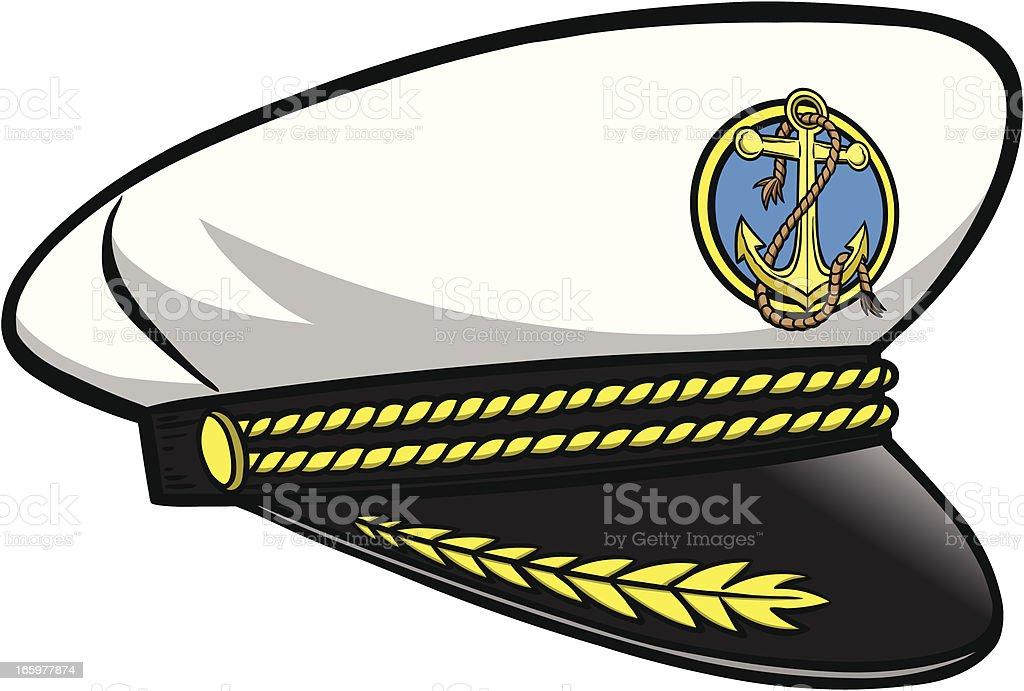 Uniform Cap Clip Art, Vector Images & Illustrations - iStock Captain Hat Vector