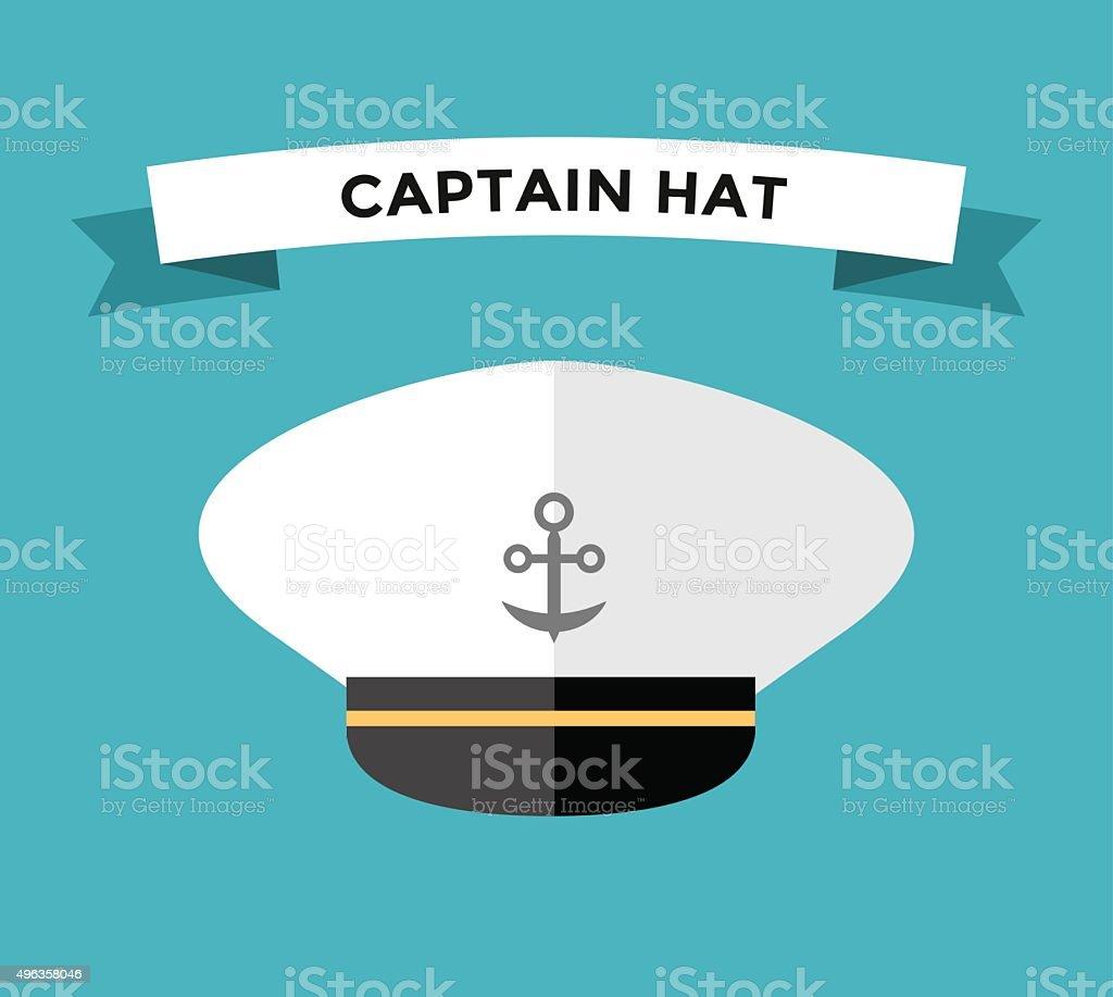 Sailor Hat Clip Art, Vector Images & Illustrations - iStock Captain Hat Vector