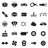 Car and Automotive Symbols and Icons
