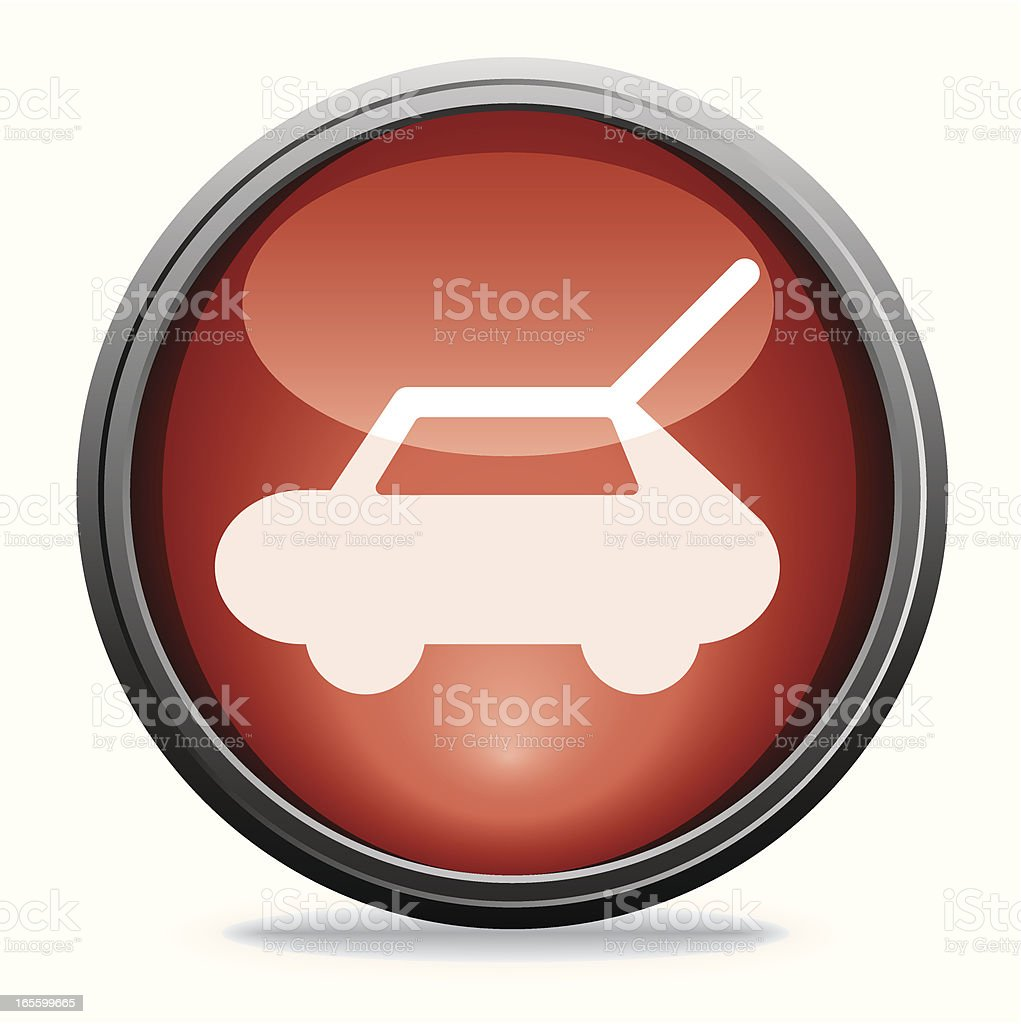 Car Boot   Glass Collection vector art illustration